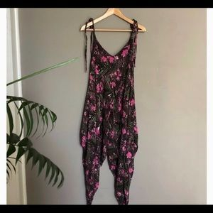 Never worn free people harem jumpsuit XS